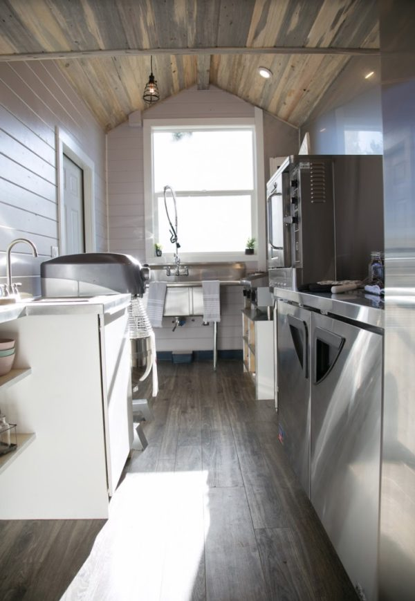 34ft Tiny House with Full Size Industrial Kitchen by Tiny Heirloom 0014