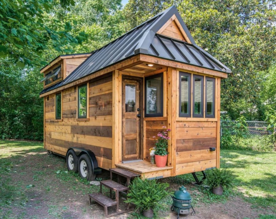 Cedar Mountain Tiny House Built by David Latimer For Sale 001