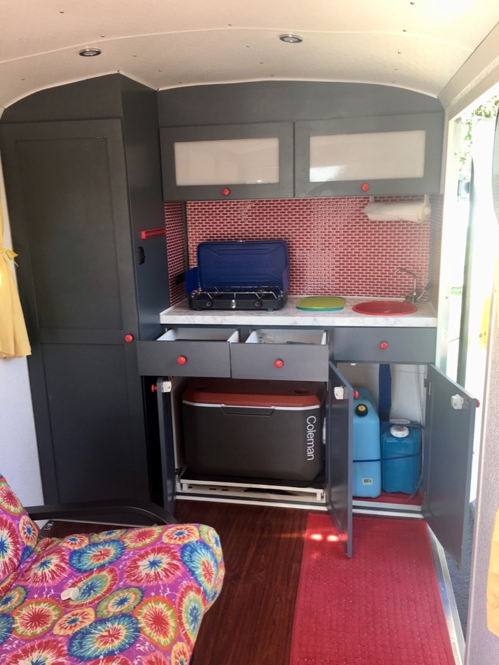 Couples Cargo Trailer Tiny House Conversion 0015