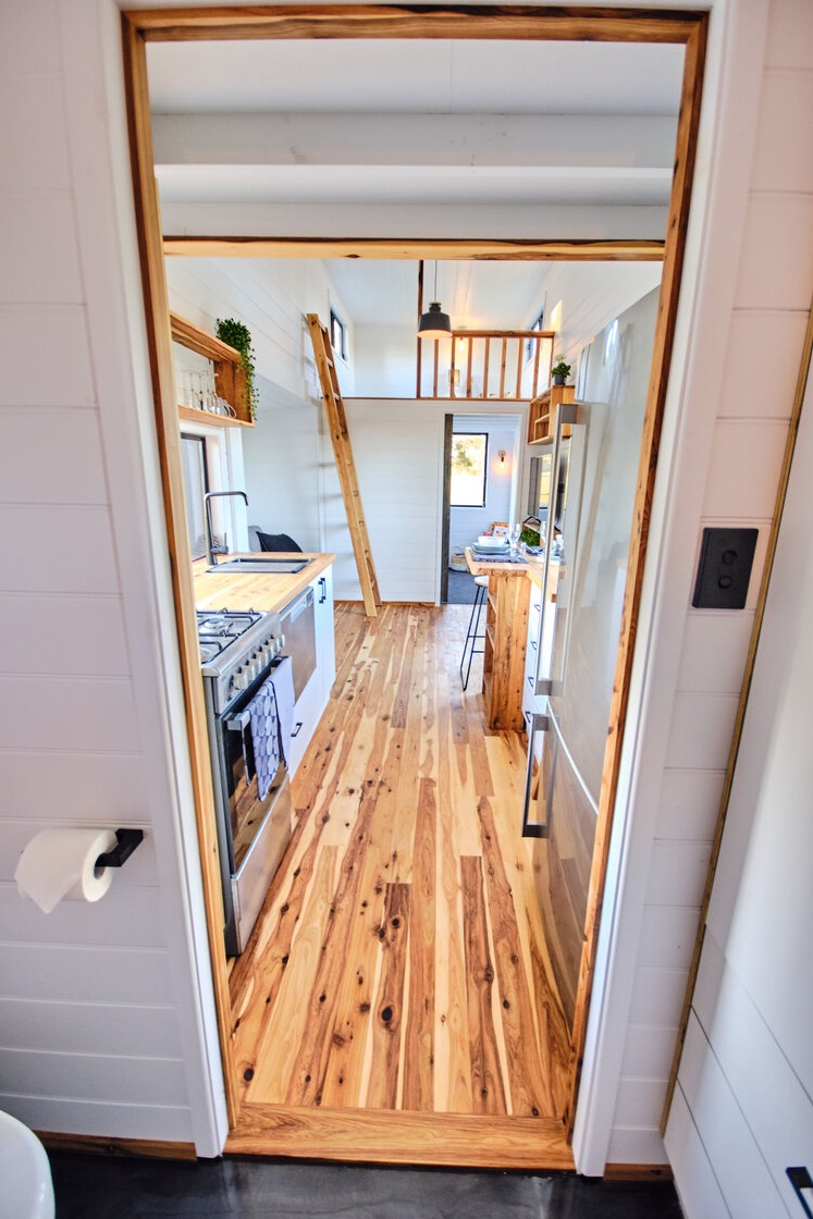 Family Sojourner Tiny House by Hauslein Tiny House Co 0011