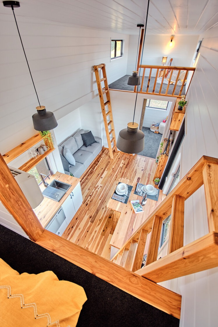 Family Sojourner Tiny House by Hauslein Tiny House Co 0013