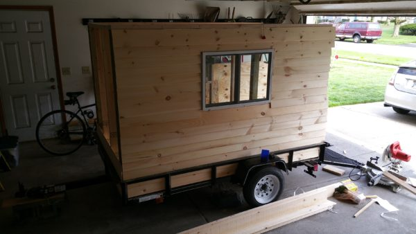Solar Powered Camper >> This Man Built a Cheap DIY Micro Camper with Fold Out ...