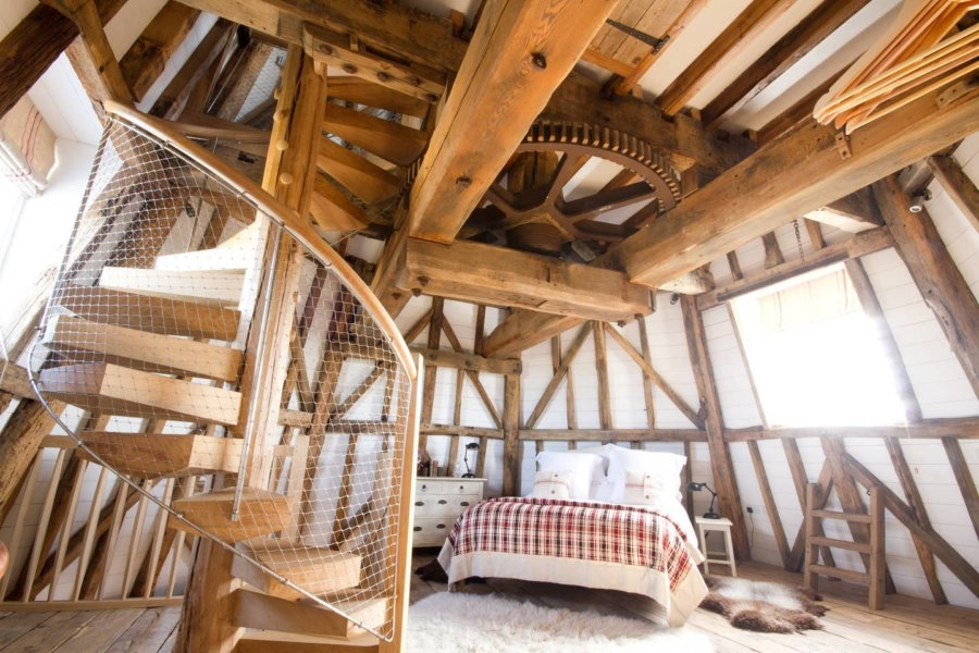 Old Smock Windmill Cottage in Benenden England via Clare40win-Airbnb 009