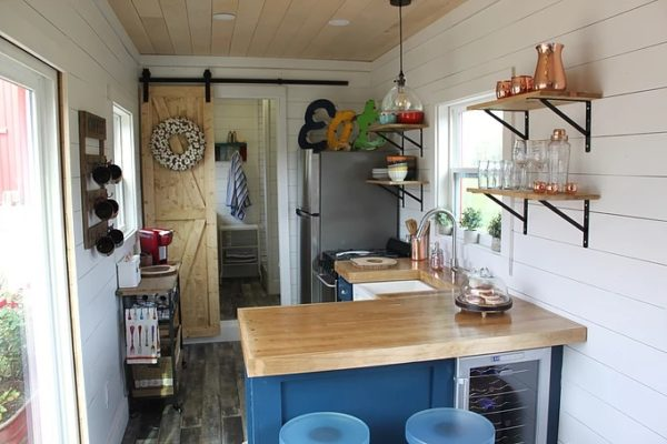 Rustic Retreat XL Shipping Container Tiny House
