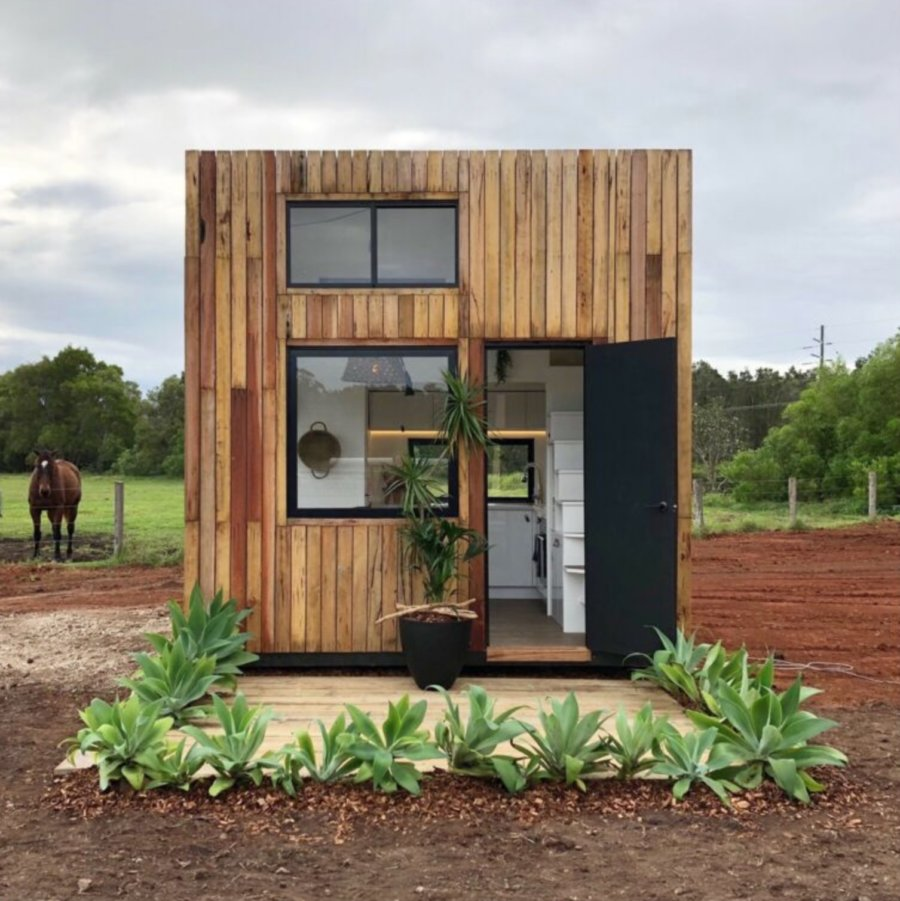 The Cube Tiny House by Little Byron 001