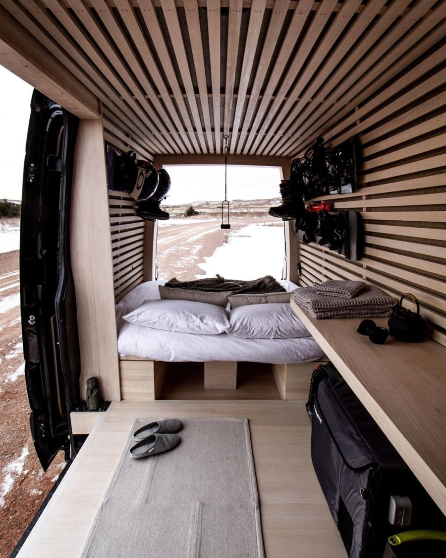The Ryovan Project Japanese Teahouse Inspired Van Conversion 002