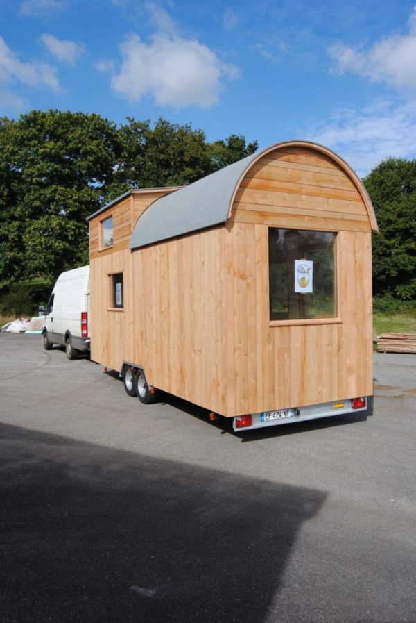 Ty Rodou Tiny House Lextension Au Fond Du Jardin 006
