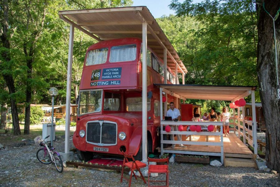 Double-Decker London Bus Turned Summer Home in...Italy!