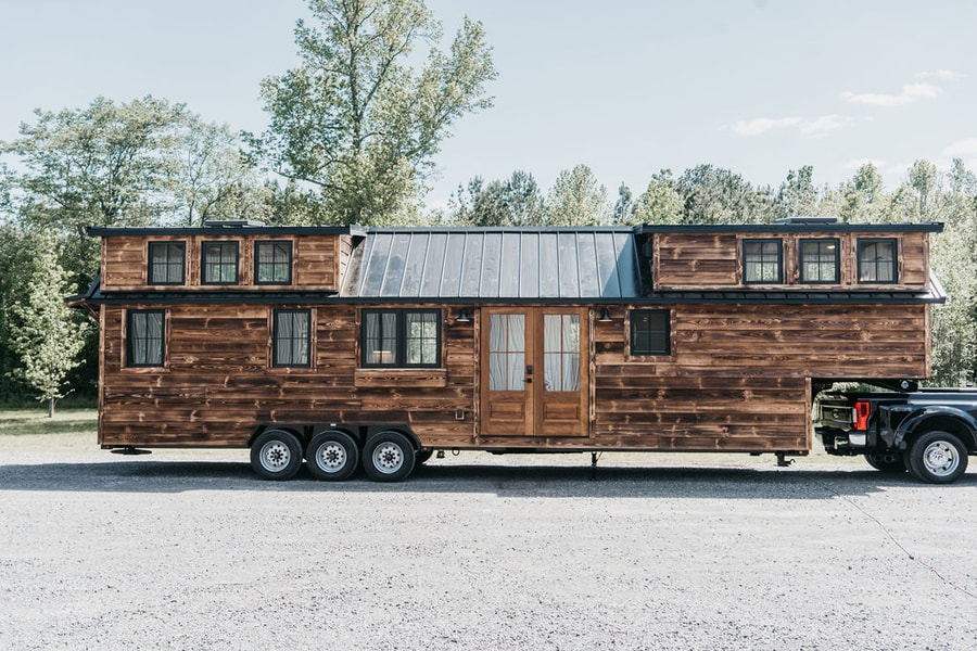 Timbercraft Tiny Homes Rustic Denali XL Model
