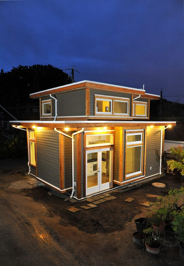 Couple's 500-Square-Foot Small House